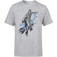 Magic The Gathering Jace Character Art T-Shirt - Grey - 3XL - Grey