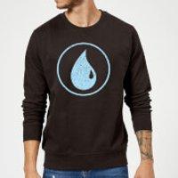 Magic The Gathering Mana Blue Sweatshirt - Black - 4XL - Black