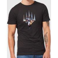 Magic The Gathering Key Art With Logo T-Shirt - Black - 3XL - Black