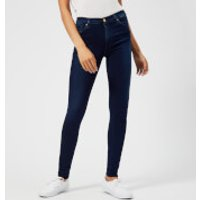 7 For All Mankind High Waist Skinny Jeans - Indigo