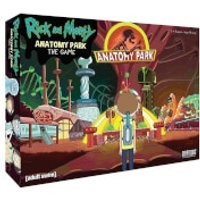 Rick and Morty Board Game - The Anatomy Park - Board Game Gifts