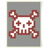 You Are Dead Gaming Art Print - Gaming Gifts