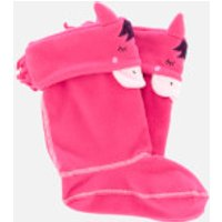 Joules Kids' Smile Welly Socks - Soft Pink - UK 1-3 Kids - Pink