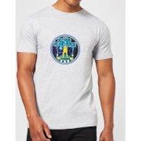 Atari Star Raiders Men's T-Shirt - Grey - L - Grey - Atari Gifts