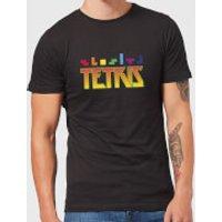 Tetris Multi Blocks Men's T-Shirt - Black - L - Black