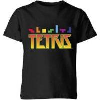 Tetris Multi Blocks Kids T-Shirt - Black - 7-8 Years - Black