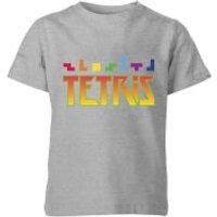 Tetris Multi Blocks Kids T-Shirt - Grey - 9-10 Years - Grey