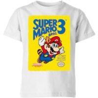 Image of Nintendo Super Mario Bros 3 Kid's T-Shirt - White - 5-6 Years - White