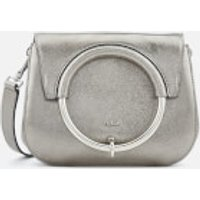 Furla Womens Margherita Mini Cross Body Bag - Silver