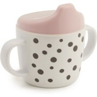 Done by Deer Happy Dots Spout Cup - Powder