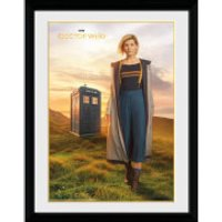 Doctor Who 13th Doctor 12 x 16 Inches Framed Photograph - Doctor Who Gifts