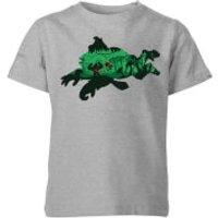 Nintendo Donkey Kong Silhouette Kid's T-Shirt - Grey - 5-6 Years - Grey