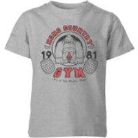 Nintendo Donkey Kong Gym Kid's T-Shirt - Grey - 7-8 Years - Grey - Gym Gifts