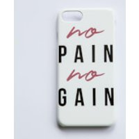 Healthy Madame No Pain No Gain Phone Case for iPhone and Android - Samsung S6 Edge - Snap Case - Gloss