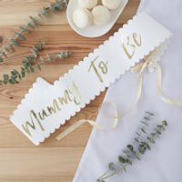 Ginger Ray  Mother To Be  Sash - Ginger Gifts