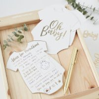 Ginger Ray Oh Baby Advice Cards - Baby Gifts
