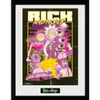 Rick and Morty Action Movie 12 x 16 Inches Framed Photograph - Movie Gifts