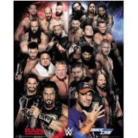 WWE Raw Vs. Smackdown Mini Poster 40 x 50cm