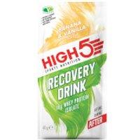 High5 Recovery Drink - Box of 9 - 9sachets - Box - Banana & Vanilla
