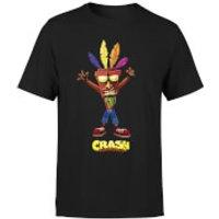 Crash Bandicoot Aku Aku Mens T-Shirt - Black - M - Black