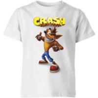 Crash Bandicoot Thumbs Up Kids' T-Shirt - White - 3-4 Years - White
