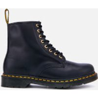 Dr. Martens Dr. Martens Men's 1460 Aqua Glide Leather 8-Eye Boots - Dm Navy - UK 11 - Navy