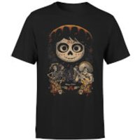 Coco Miguel Face Poster Mens T-Shirt - Black - S - Black