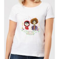 Coco Miguel And Hector Women's T-Shirt - White - XL - White