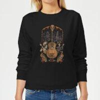 Coco Guitar Poster Women's Sweatshirt - Black - S - Black - Music Gifts