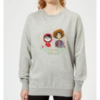 Coco Miguel And Hector Women's Sweatshirt - Grey - XL - Grey