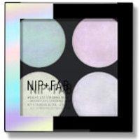 NIP+FAB Make Up Highlighter Quad - Weightless Strobing 12g
