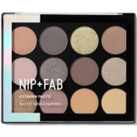 NIP+FAB Make Up Eye Shadow Palette - Gentle Glam 12g