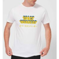 Space Invaders Japanese Men's T-Shirt - White - XXL - White