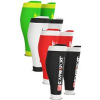 Compressport R2v2 Race and Recovery Calf Guard - T1/S - Red