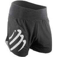 Compressport Racing Over Shorts - Black - S - Black