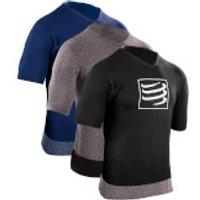 Compressport Training T-Shirt - M - Grey