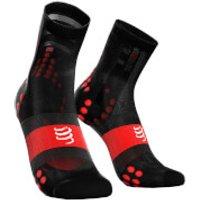 Compressport V3.0 Ultralight Cycling Race Socks - T2/M - White