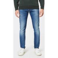 Edwin Men's ED-85 Slim Tapered Jeans - Birger Wash - W34/L32 - Blue