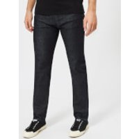 Edwin Men's ED-80 Slim Tapered Red Listed Selvedge Denim Jeans - Rinsed - W32/L34 - Blue