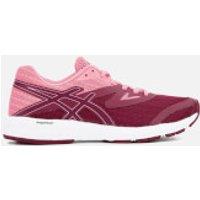 Asics Running Womens Amplica Trainers - Cordovan/Peach Petal - UK 6.5 - Multi