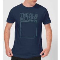 The Old Block Men's T-Shirt - Navy - M - Navy