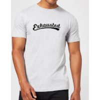 Exhausted Men's T-Shirt - Grey - L - Grey