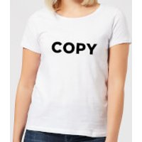 Copy Women's T-Shirt - White - S - White