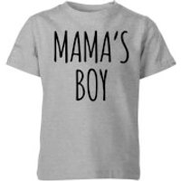 My Little Rascal Mamas Boy Kids T-Shirt - Grey - 7-8 Years - Grey