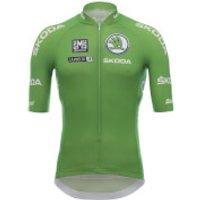 Santini La Vuelta 2018 Sprinter Jersey - Green - M - Green