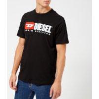 Diesel Men's Just Division Logo T-Shirt - Black - XXL