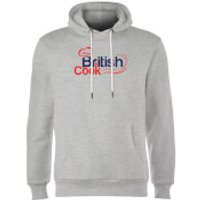 British Cook Red Hoodie - Grey - XXL - Grey - British Gifts