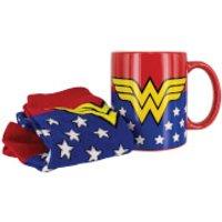 Wonder Woman Mug and Socks Set
