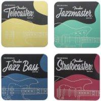 Fender Metal Coasters