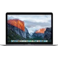 Apple 12   Macbook (Core M 1.3GHz/8GB/512GB SSD) - Space Grey - Apple Certified Refurbished - Technology Gifts